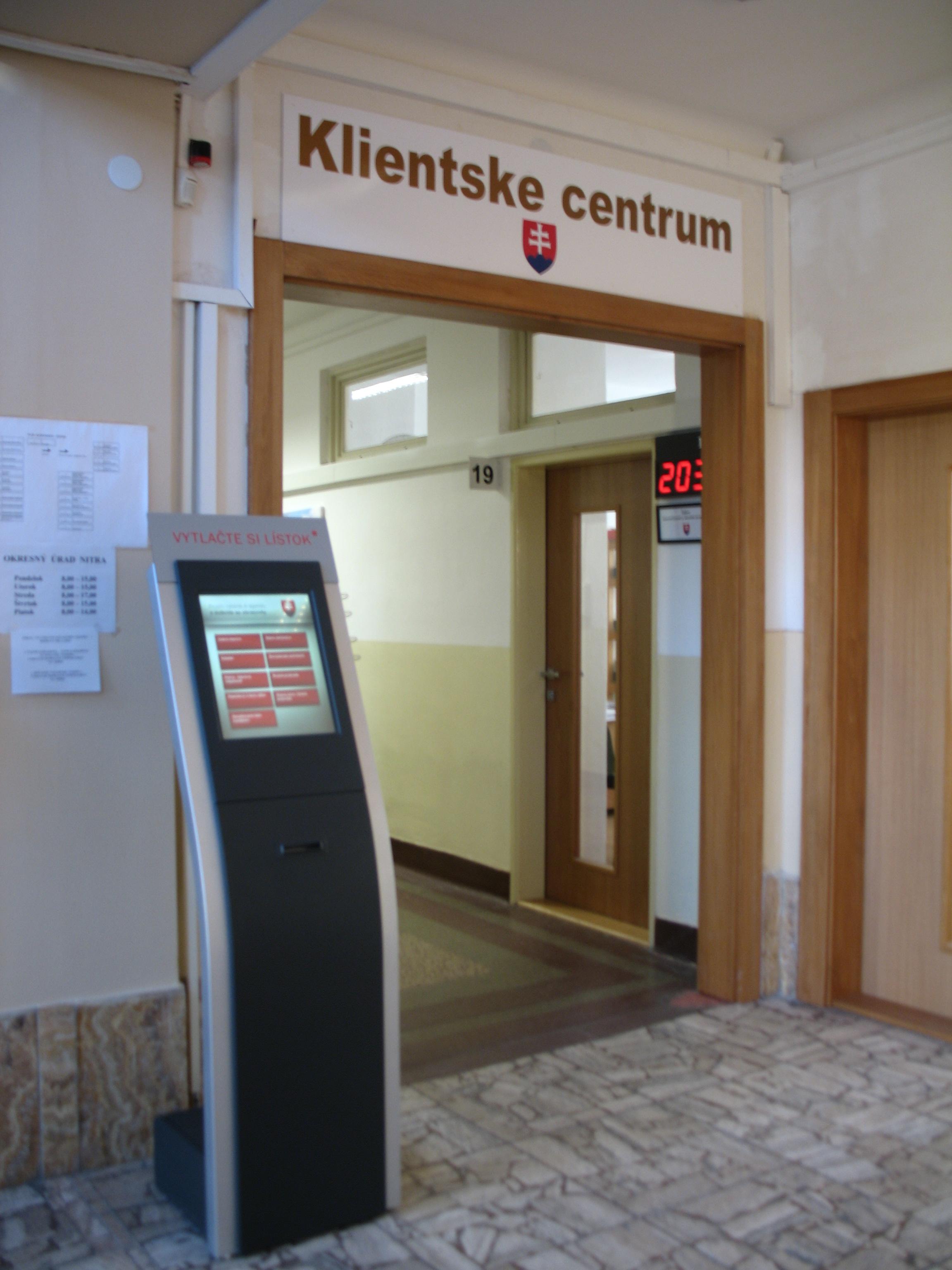 Klienstke centrum