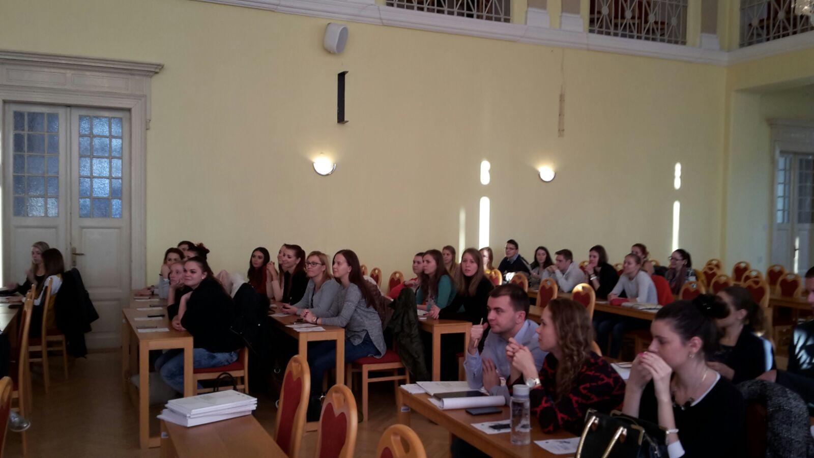Panelová diskusia na Univerzite Mateja Bela v Banskej Bystrici