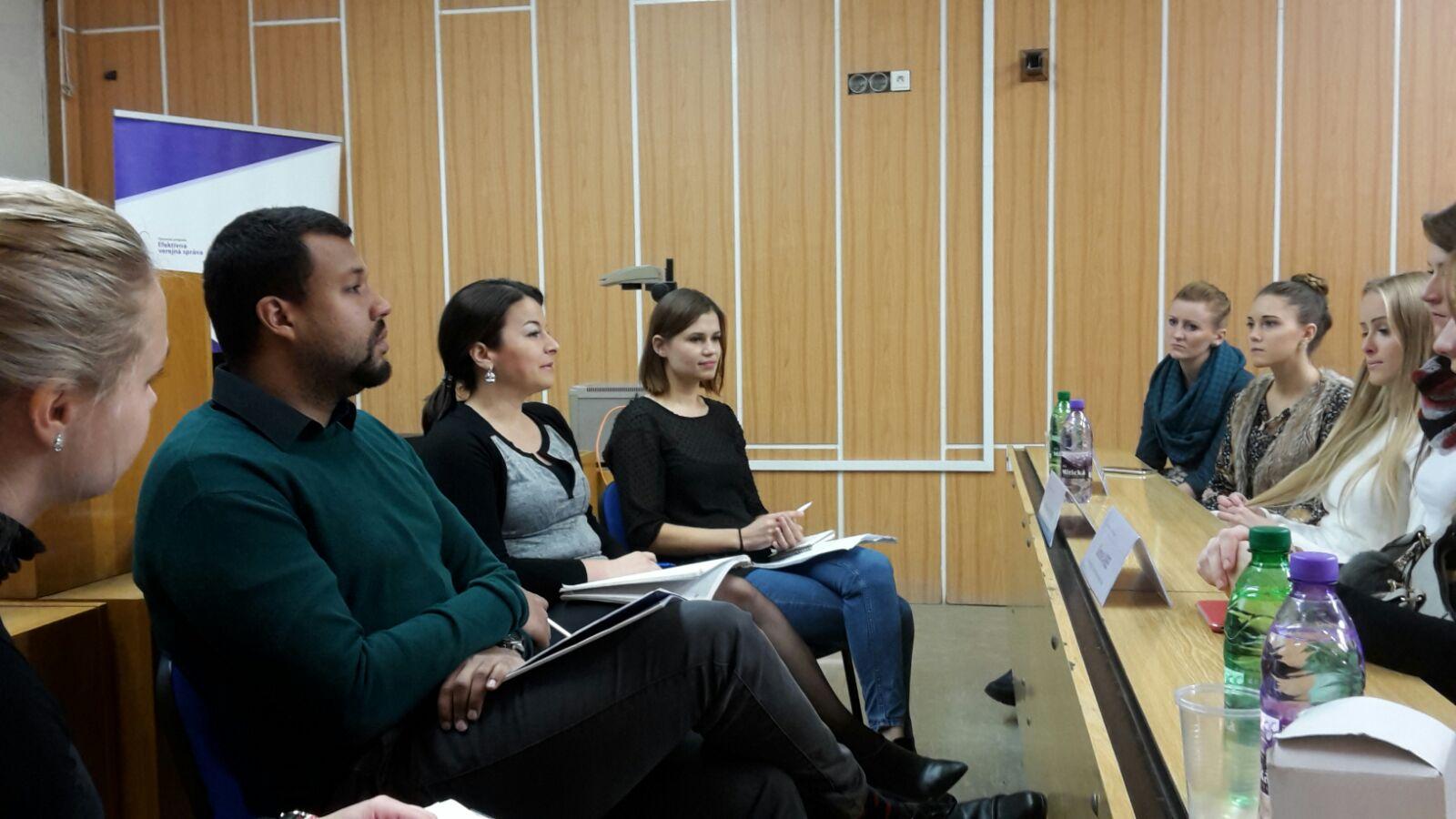 Diskusia na Technickej univerzite v Košiciach