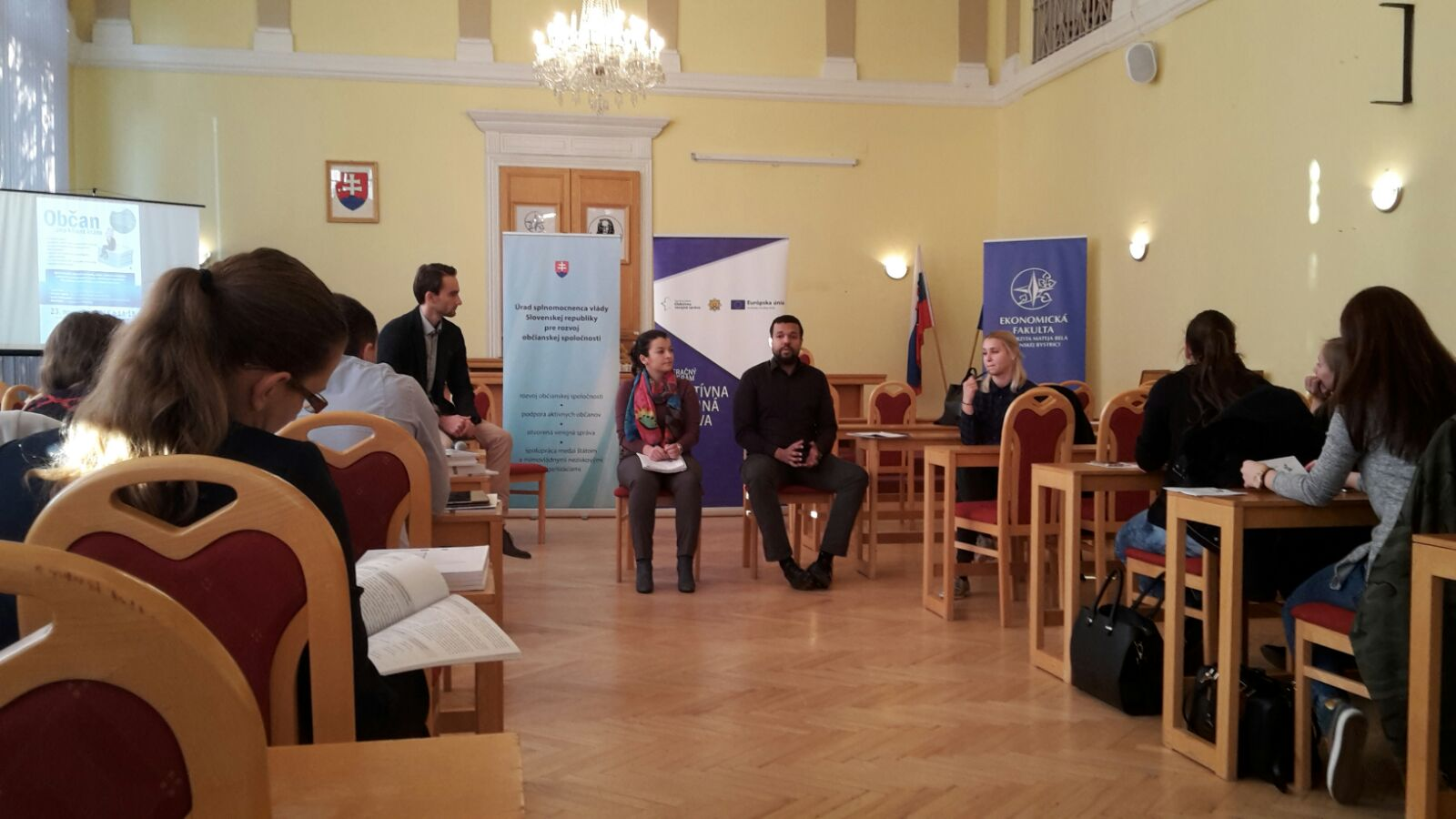 Diskusia na UMB v Banskej Bystrici