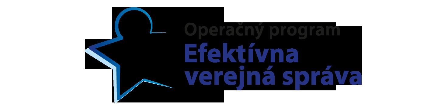 Výsledok vyhľadávania obrázkov pre dopyt operačný program efektívna verejná správa logo