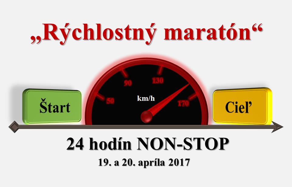 Rýchlostný maratón - logo